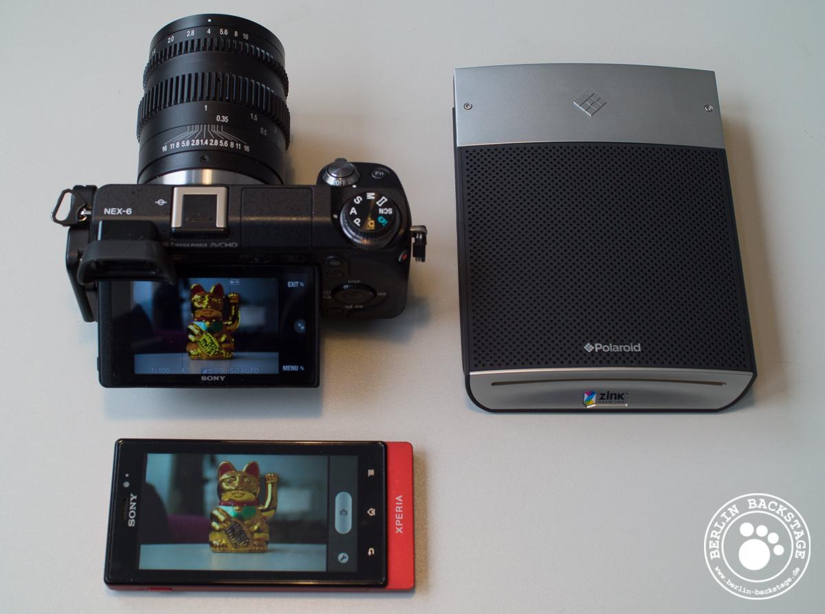SonyUserforum - NEX-6 mit Polaroid Seitenteil